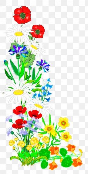 Kebab - Floral Design Clip Art Cut Flowers Illustration Font PNG