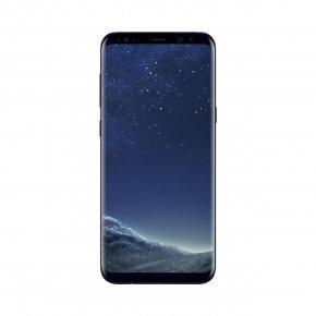 Black - Samsung Galaxy S8+ Smartphone Telephone PNG
