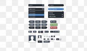 Interface - Push-button Widget User Interface Download PNG