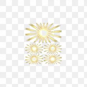 Golden Sun Rays - Sunlight Gold PNG