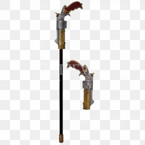 Walking Stick - Steampunk Walking Stick Cane Gun Assistive Cane Bastone PNG