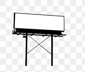 Outdoor Elevated Billboard - Billboard Advertising Poster PNG