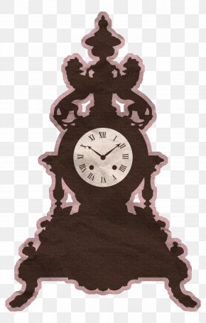 Clock - Wall Decal Clock Room PNG