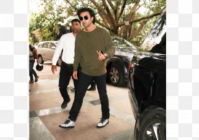 Ranbir Kapoor - Jeans T-shirt Fashion Actor Casual Attire PNG