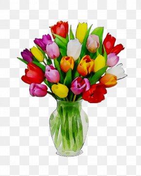 Tulip Flower Bouquet Floral Design Garden Roses PNG