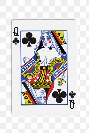 Queen - Queen Of Clubs Playing Card Stock Photography Royalty-free PNG