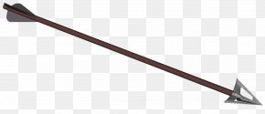 Arrow Bow - Ranged Weapon Line Angle Copyright Wiki PNG