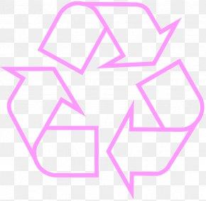 Trash Can - Paper Recycling Symbol Recycling Bin Sticker PNG