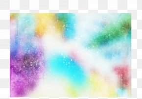Color Cool Stars Spray - Aerosol Spray Mist Fog PNG