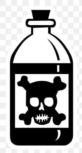 Poison - Skull And Crossbones Poison Human Skull Symbolism Clip Art PNG