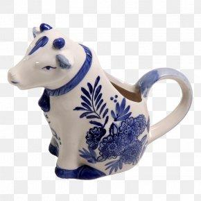 Cow's Milk - Delftware Mug Ceramic Creamer PNG