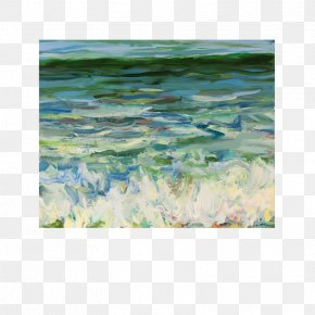Painting - Pacifica Watercolor Painting Art Texture PNG