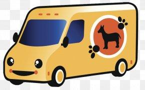 Pet Car - Vans Illustration PNG