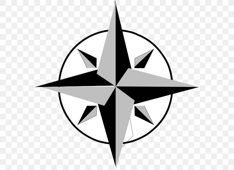 North Compass Rose Clip Art Png 576x598px North Artwork