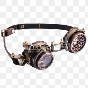 GOGGLES - Steampunk Goggles Sunglasses Light PNG