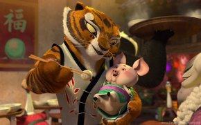 Kung-fu Panda - Tigress Master Shifu Po Lord Shen Kung Fu Panda PNG
