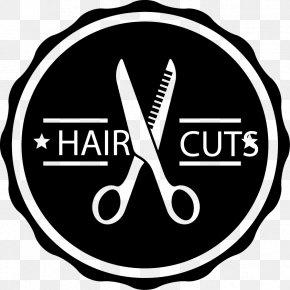 Black Hair Salon Tag Vector Material - Barber ArtMax Studio Hairdresser Capelli PNG