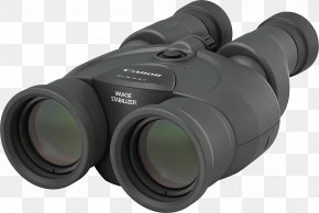 Binoculars Rear View - Image-stabilized Binoculars Canon Photography Image Stabilization PNG