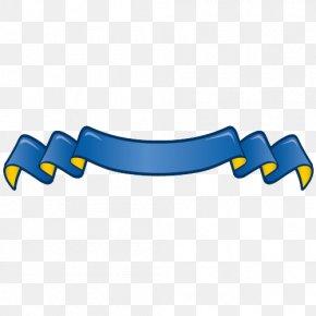 Blue Ribbon - Ribbon Computer File PNG
