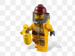 Lego - Lego City Lego Minifigure Firefighter All-terrain Vehicle PNG