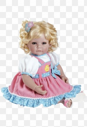 Doll - Adora Dolls Baby Doll 20-inch Cat's Meow-inch Light Blonde Hair/blue Toy Adora Pin-A-Four Seasons Reborn Doll PNG