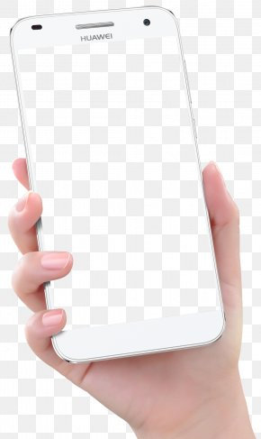 Hand Holding Smartphone - Smartphone Hand Huawei Ascend PNG