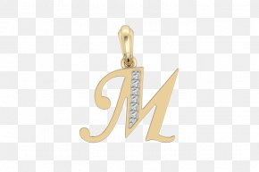 Alphabet Collection - Earring Charms & Pendants Jewellery Gold Charm Bracelet PNG