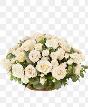 Flower - Flower Bouquet Florist Mourning Garden Roses PNG