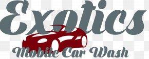 Car Wash - Exotics Mobile Car Wash Auto Detailing Logo PNG