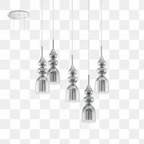 Light - Light Fixture Eglo Bolanos Chrome Pendant Pendant Light PNG