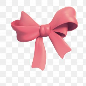 Pink Bow Tie - Love Husband Wife Bow Tie Friendship PNG