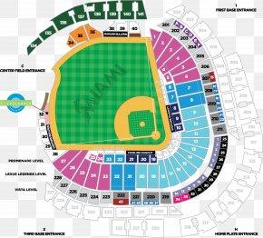 Ticket - Miami Marlins Marlins Park AT&T Park Globe Life Park In Arlington MLB PNG