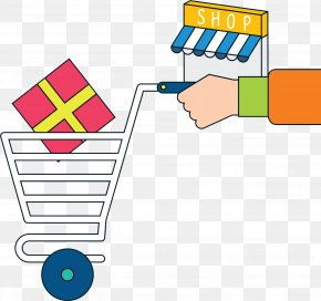 Shopping Shop - Shopping Online To Offline PNG