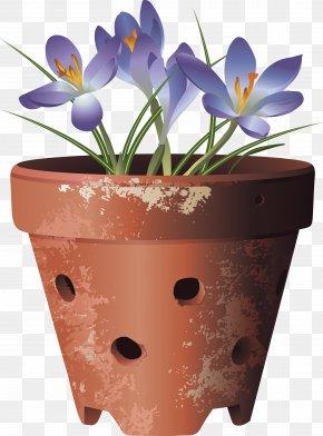 Flower Pot - Gardening Flowerpot Houseplant PNG