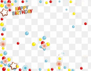 Happy Birthday Corners Decoration - Happy Birthday To You Party PNG