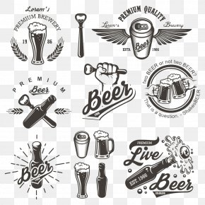 Beer Icon Design - Brewery Logo Brewing Illustration PNG