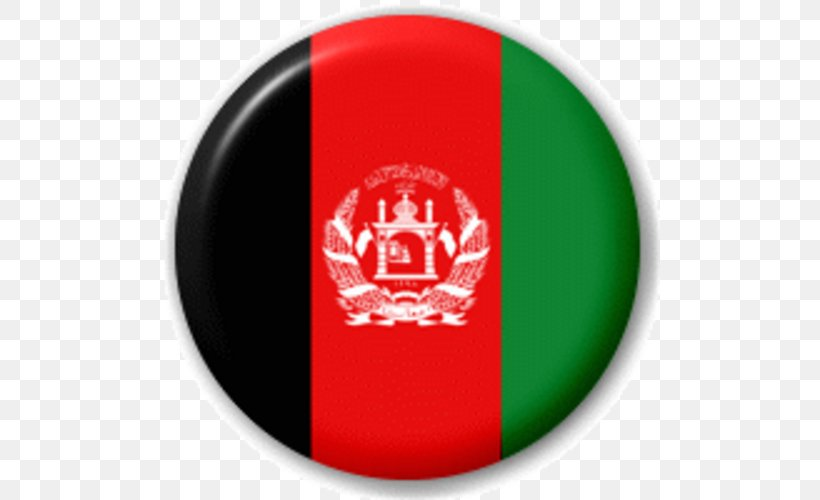 Flag Of Afghanistan Flags Of The World National Flag, PNG, 500x500px, Afghanistan, Afghan National Anthem, Brand, Country, Cricket Ball Download Free