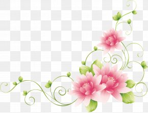 Flower Vine - Flower Drawing Vine Clip Art PNG