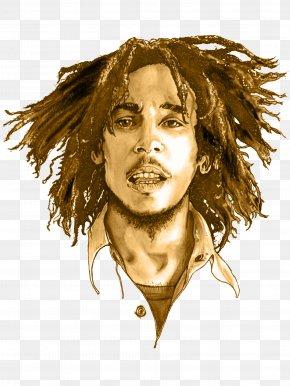 Bob Marley - Bob Marley Nine Mile Reggae Legend PNG