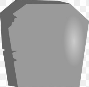 Tombstone Vector - Headstone Cemetery Clip Art PNG
