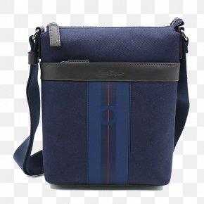 Ferragamo Men's Shoulder Bag Casual Shoulder Bag - Messenger Bag Leather Shoulder Cattle PNG