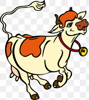 Cow - Cattle Calf Coloring Book Cartoon Clip Art PNG