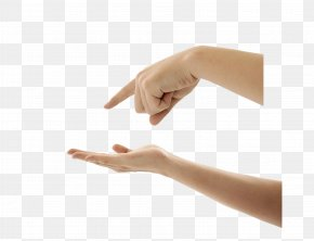 Hands And Direction With Your Fingers - Finger Hand Digit Nail PNG