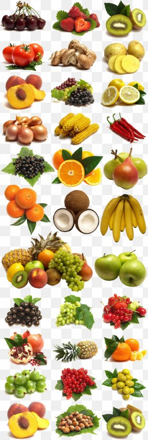 A Large Collection Of Fruits And Vegetables PNG