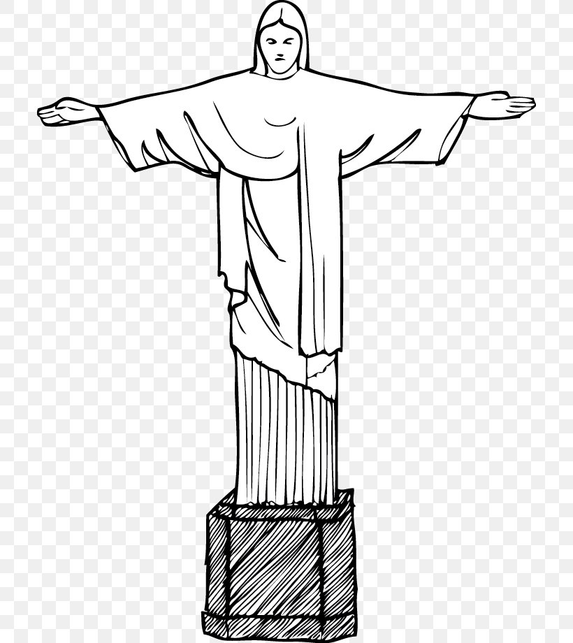 Christ The Redeemer Corcovado Clip Art, PNG, 714x920px, Christ The Redeemer, Area, Arm, Art, Artwork Download Free