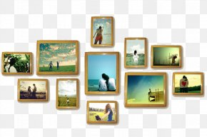 Creative Couple Photo - Picture Frame PNG