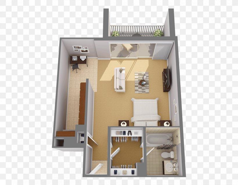 Studio Apartment House Floor Plan Room