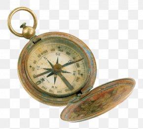 Retro Compass - Compass Clip Art PNG