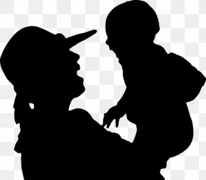 Child - Mother Infant Child Silhouette Clip Art PNG