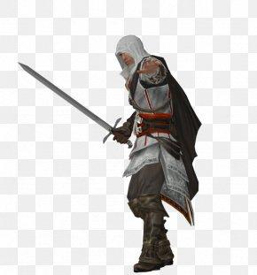 Ezio - Ezio Auditore Sword Ninjatō Assassin's Creed II PNG